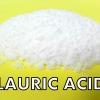 Lauric acid กรดลอริก 1kg