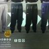 BCS กางเกงวอร์มสีล้วน อย่างหนา