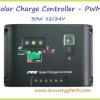 ตัวควบคุมการชาร์จแบตเตอรี่ แบบ PWM ขนาด 30A 12/24V (C)