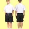 กางเกงนักเรียนตราสมอ สีดำ