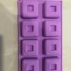 แม่พิมพ์ซิลิโคน สี่เหลี่ยม 6.6*2.8 cm..
