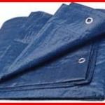 ผ้าใบ รังสิต ปทุมธานี คลุมสินค้า กันฝน กันแดด เคลือบ2ด้าน น้ำหนักเบา ขนาดกว้าง 5หลา x ยาว 7เมตร