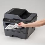 """เครื่องพิมพ์เลเซอร์ """"พิมพ์กระดาษเป็นสีดำทั้งหน้า"""""""