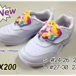 CatCha CX200 - รองเท้าพละขาวหญิง Rapunzel ราพันเซล