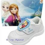 Chappy CF9124 - รองเท้าพละขาวหญิง Elsa Frozen ใหม่ 2560