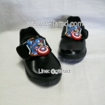 CatCha AM02 - รองเท้านักเรียนชาย Caption America No.25-32