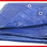 ผ้าใบ รังสิต ปทุมธานี คลุมสินค้า กันฝน กันแดด เคลือบ2ด้าน น้ำหนักเบา ขนาดกว้าง 3หลา x ยาว 7เมตร