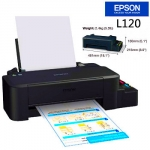 """งานพิมพ์คุณภาพ น้ำหมึก """"คอมพิวท์"""" ที่เติมใส่แท็งก์ของเครื่องพิมพ์ Epson L120"""