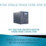 Off-grid pure sine wave inverter 4000W/192VDC/220VAC/50Hz