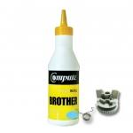 ผงหมึก+เฟือง BROTHER TN351/TN359 คอมพิวท์ Refill Toner (Cyan)