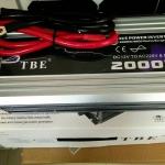 Inverter (หม้อแปลงไฟฟ้า) รุ่น PSW-2000W 12V TBE