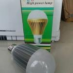 หลอดไฟ LED E27 Bulb ขนาด 9W 12V 4200-4500K AL