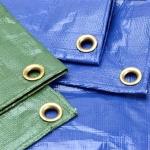 ผ้าใบ รังสิต ปทุมธานี คลุมสินค้า กันฝน กันแดด เคลือบ2ด้าน น้ำหนักเบา ขนาดกว้าง 2หลา x ยาว 7เมตร