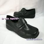 Sainte รองเท้าหนังดำ อนุบาลชาย ไซส์ 35-37
