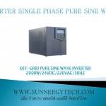 Off-grid pure sine wave inverter 1500W/24VDC/220VAC/50Hz