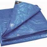 ผ้าใบ เคลือบ2ด้าน ขนาดกว้าง 5เมตร x ยาว 5เมตร รังสิต ปทุมธานี คลุมสินค้า กันสาด กันฝุ่น กันฝน กันแดด น้ำหนักเบา ทนทาน