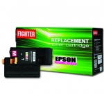 ตลับหมึกเลเซอร์ EPSON C1700/CX17nf C13S050612 (Magenta) FIGHTER (Toner Cartridge)