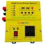 Inverter (หม้อแปลงไฟฟ้าพร้อม Charge Controller) รุ่น MSW 300W 12V P10A