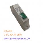 Breaker แบบ MCB DC ขนาด C40A 250V 1 Pole (SNT)