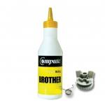 ผงหมึก+เฟือง BROTHER TN351/TN359 คอมพิวท์ Refill Toner (Yellow)