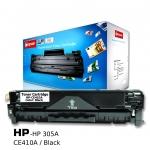 ตลับหมึกเลเซอร์ HP 305A/CE410A (Black) Compute (Toner Cartridge)