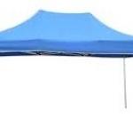 เต็นท์พับได้ เต็นท์ขายของ ขนาด กว้าง2เมตร x ยาว4เมตร(เฉพาะเต็นท์ ไม่รวมผ้าใบปิดด้านข้าง)