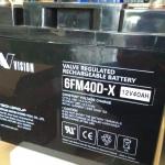 แบตเตอรี่ขนาด 40Ah 12V ชนิด Deep Cycle - AGM