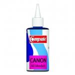น้ำหมึกเติม(Refill Inkjet) คอมพิวท์ For CANON All model, G-Series (Cyan)