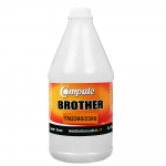 ผงหมึกเติม BROTHER TN-2360, 2380 คอมพิวท์ (Refill Toner) สีดำ (Black) 1 กิโลกรัม