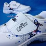 CatCha AM01 - รองเท้าพละขาวชาย Caption America No.25-32