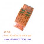 Surge แบบ SPD DC ขนาด 20-40kA 550V 2P (SNT)