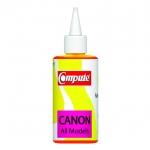 น้ำหมึกเติม (Refill Inkjet) คอมพิวท์ For CANON All model, G-Series (Yellow)