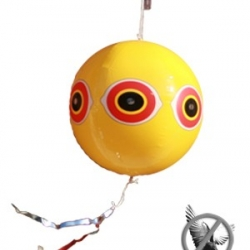 บอลลูนตาปีศาจสะท้องแสง วิธีไล่นกพิราบและนกอื่นๆด้วยวิธีธรรมชาติ