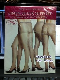 Cherilon LINEN SHEER SUPPORT ถุงน่อง ลินินเชียร์ ซัพพอร์ท