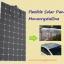แผงโซล่าเซลล์ ชนิด Mono-Crystalline ขนาด 180W แบบโค้งงอได้ Flexible Solar Panel thumbnail 2