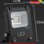 LED Solar Flood Light 10W พร้อมแบตเตอรี่ 5200mAh thumbnail 1