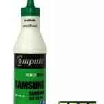 ผงหมึกเติม Samsung CLT-C407S คอมพิวท์ Refill Toner (Cyan)