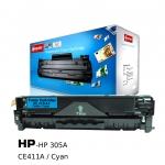 ตลับหมึกเลเซอร์ HP 305A/CE411A (Cyan) Compute (Toner Cartridge)