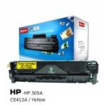 ตลับหมึกเลเซอร์ HP 305A,CE412A (Yellow) Compute (Toner Cartridge)